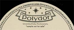 Logo des Labels Polydor White Label