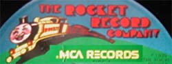 Logo des Labels Rocket Record Company
