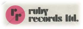 Logo des Labels Ruby Records Ltd