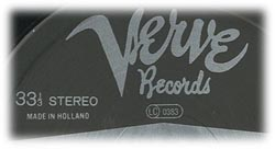 Logo des Labels Verve Records