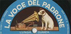Logo des Labels La voce del padrone
