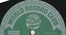 Logo des Labels Wiorld Record Club