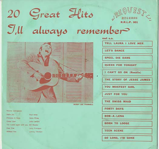 Albumcover I´ll Always Remember - 20 Great Hits Vol. 1
