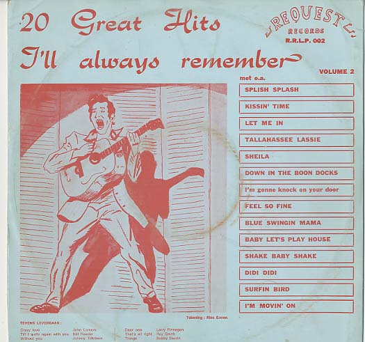 Albumcover I´ll Always Remember - 20 Great Hits Vol. 2