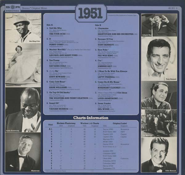 Albumcover S*R International - 30 Years Popmusic 1951
