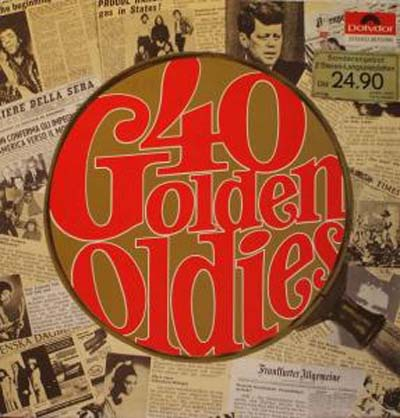 Albumcover Various Artists of the 60s - 40 Golden Oldies (2-Lp-Set)