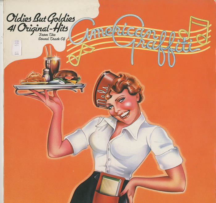 Albumcover Various Artists of the 60s - American Graffiti First (DLP)