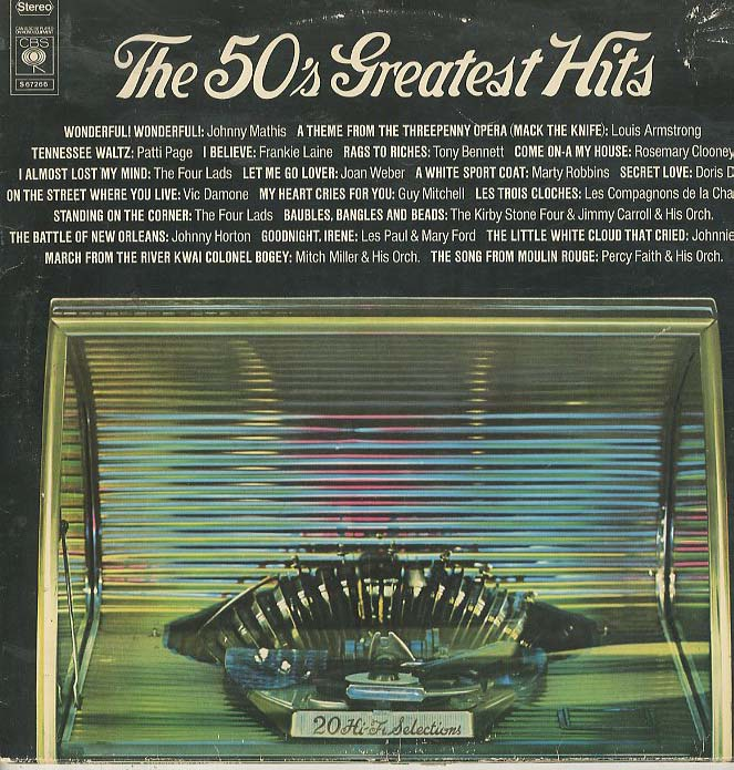 Albumcover Various Artists of the 50s - The 50´s Greatest Hits (DLP)