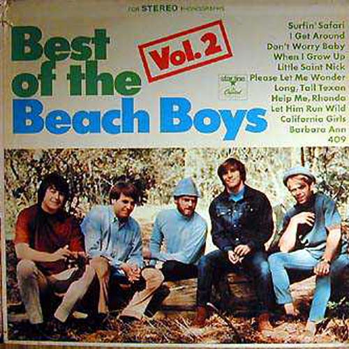Albumcover The Beach Boys - Best Of The Beach Boys Vol. 2