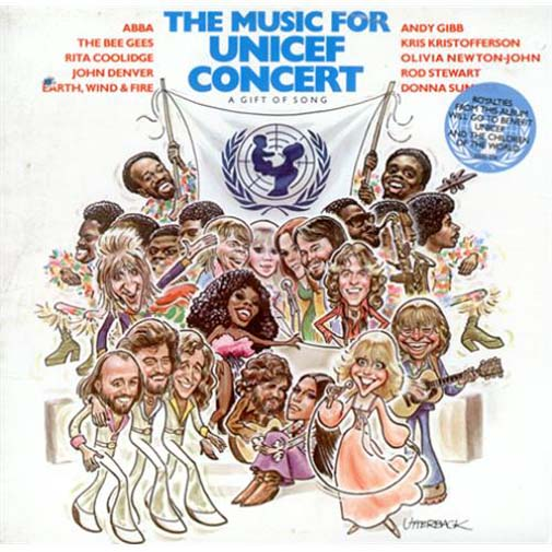 Albumcover Various Artists of the 70s - The Music For UNICEF Concert A Gift Of Song