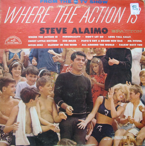 Albumcover Steve Alaimo - Where The Action Is