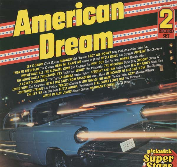 Albumcover Various Artists of the 60s - American Dream  (2 LP)