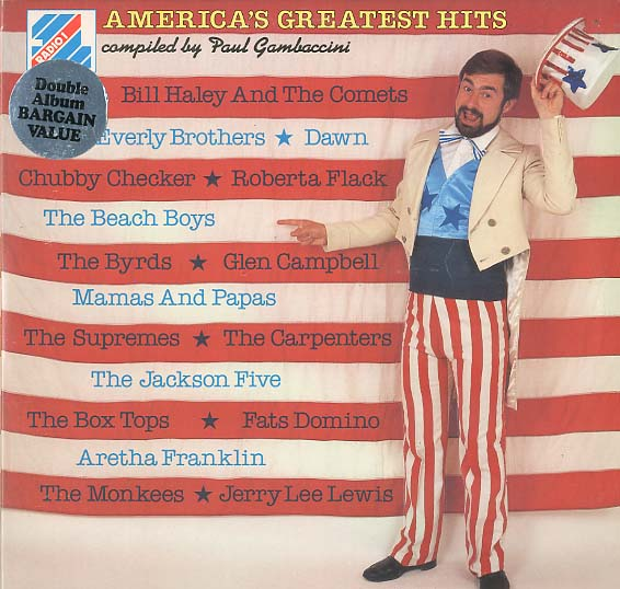 Albumcover Various Artists of the 60s - America´s Greatest Hits  (DLP)