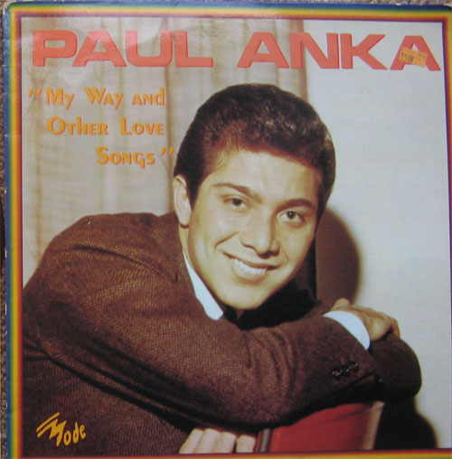 Albumcover Paul Anka - My Way and other Love Songs
