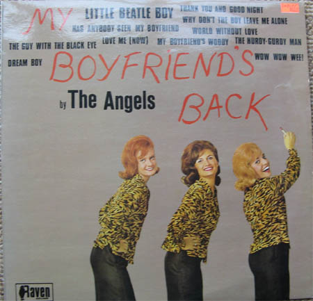 Albumcover The Angels - My Boyfriends back