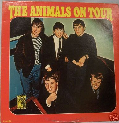 Albumcover The Animals - The Animals On Tour