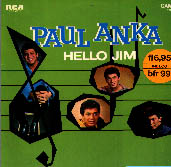 Albumcover Paul Anka - Hello Jim