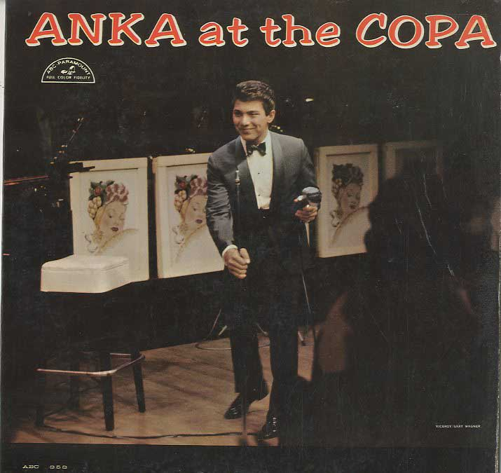 Albumcover Paul Anka - Anka at the COPA (Mono)