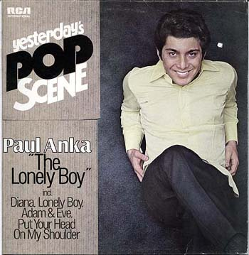 Albumcover Paul Anka - The Lonely Boy