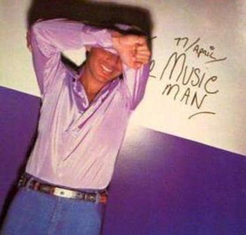 Albumcover Paul Anka - 11. April - The Music Man