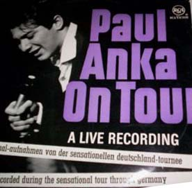 Albumcover Paul Anka - Paul Anka on Tour