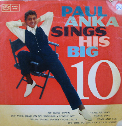 Albumcover Paul Anka - Sings His Big 10 (25 cm)