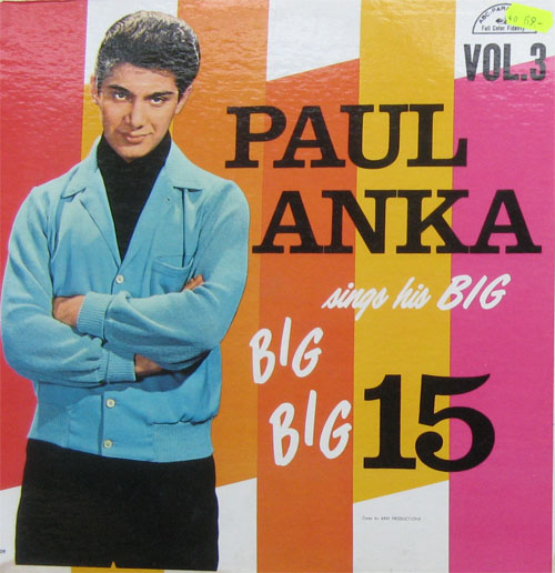 Albumcover Paul Anka - Sings His BIG 15 Vol. 3