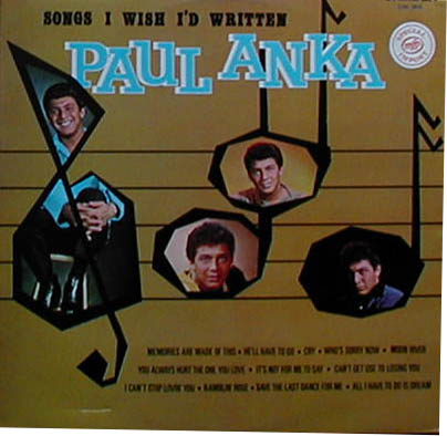 Albumcover Paul Anka - Songs I Wish I´d Written