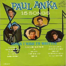 Albumcover Paul Anka - Songs I Wish I´d Written (Orig.)