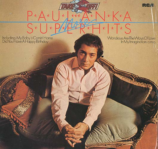 Albumcover Paul Anka - More Superhits (Take Off Reihe)