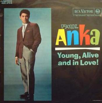 Albumcover Paul Anka - Young Alive And In Love