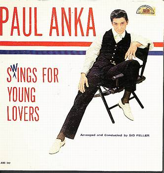 Albumcover Paul Anka - Swings For Young Lovers