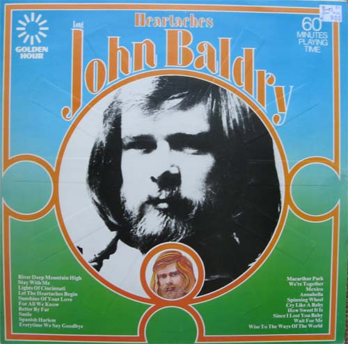 Albumcover Long John Baldry - Heartaches