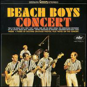 Albumcover The Beach Boys - Concert