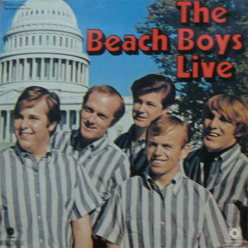 Albumcover The Beach Boys - Live (in London)