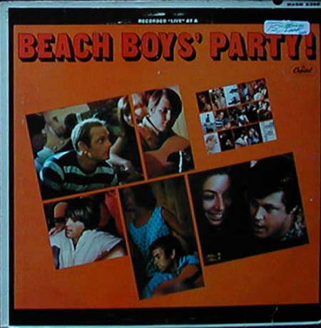 "Albumcover The Beach Boys - Beach Boys´ Party - Recorded ""Live""at a ...."