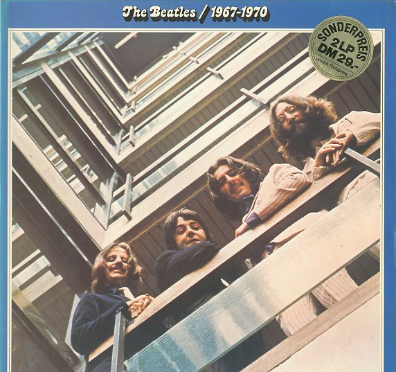 Albumcover The Beatles - The Beatles 1967 - 70 / Blaues Doppel-Album