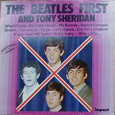 Albumcover The Beatles - The Beatles First And Tony Sheridan