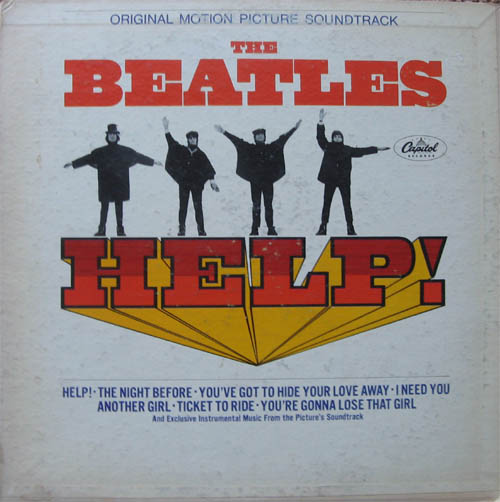 Albumcover The Beatles - Help (Soundtrack)