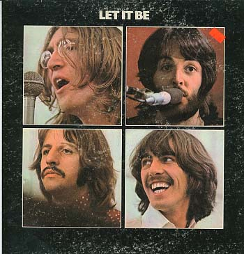 Albumcover The Beatles - Let It Be