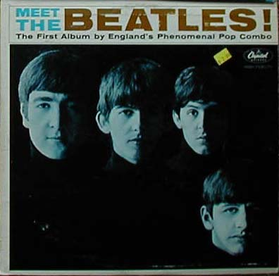 Albumcover The Beatles - Meet The Beatles