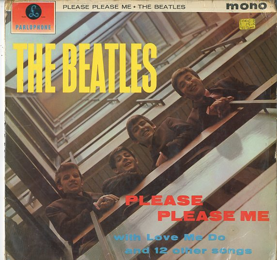 Albumcover The Beatles - Please Please Me
