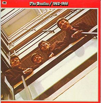 Albumcover The Beatles - The Beatles 1962 - 66 <br> Rotes Doppel-Album