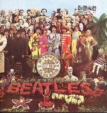 Albumcover The Beatles - Sgt. Pepper´s Lonely Hearts Club Band