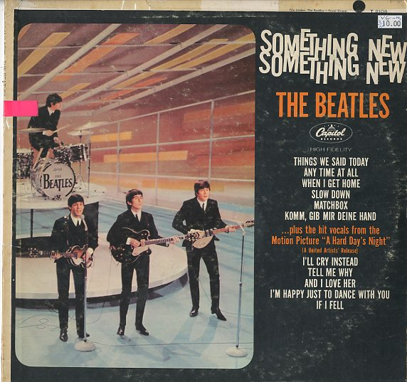 Albumcover The Beatles - Something New