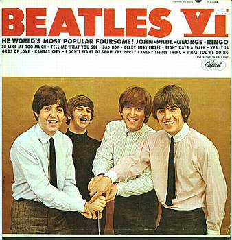 Albumcover The Beatles - Beatles VI