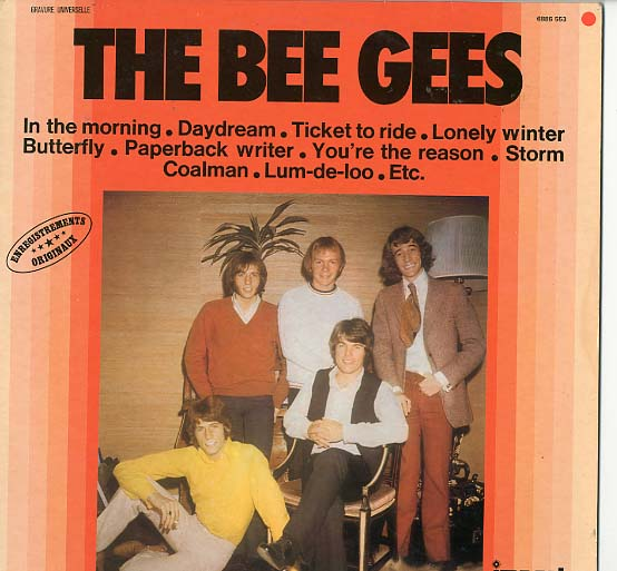 Albumcover The Bee Gees - The Bee Gees (Impact)