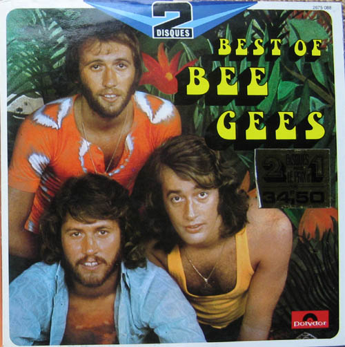 Albumcover The Bee Gees - Best of Bee Gees (franz DLP)