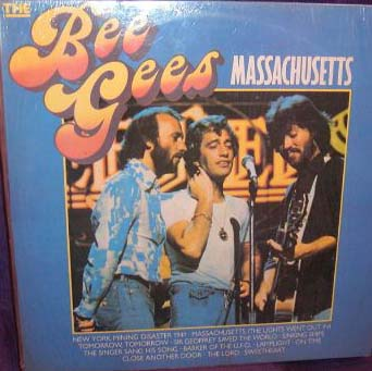 Albumcover The Bee Gees - Massachusetts