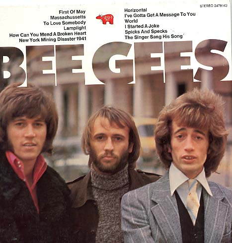 Albumcover The Bee Gees - Bee Gees